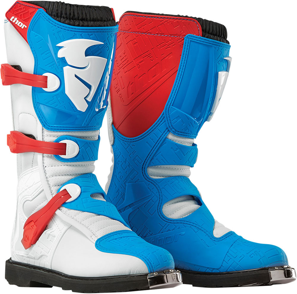 2017 Thor Blitz Boots Motocross Dirtbike Offroad Ebay