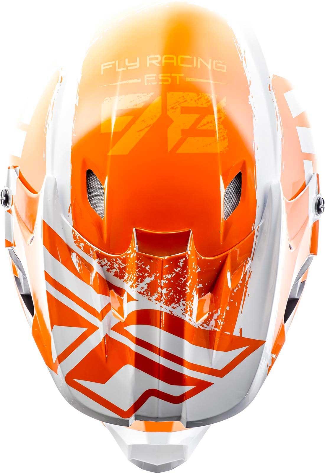 2019 Fly Racing Kinetic Burnish Helmet Mens MX Motocross Dirtbike ATV Offroad