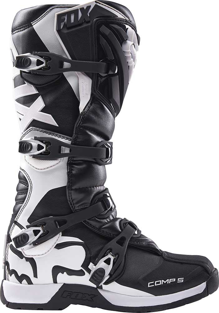 2018 Fox Racing Youth Comp 5 Boots-Black-Y1