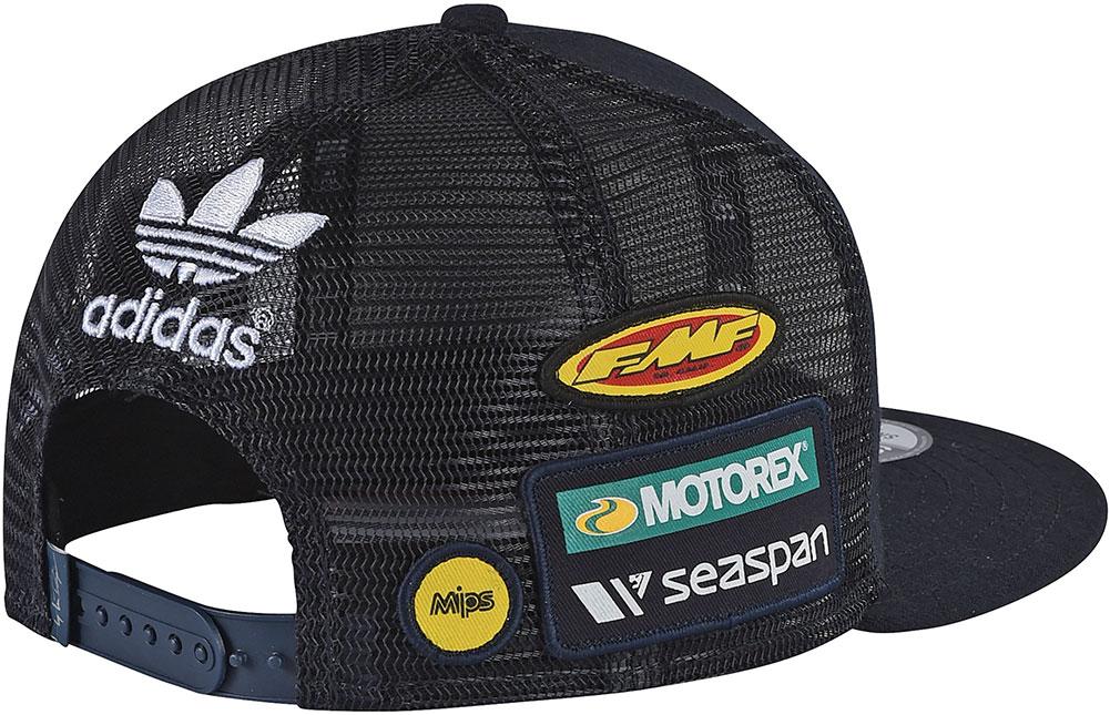 2018 Troy Lee Designs KTM Team Snapback Hat - Mens Lid Cap  3878e4c94ee