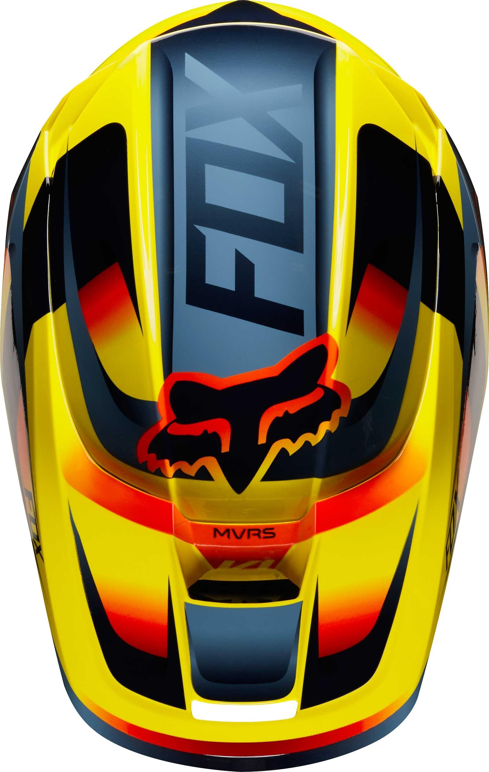 2019 Fox Racing V1 Mata Helmet Adult MX Motocross Dirtbike ATV Offroad UTV