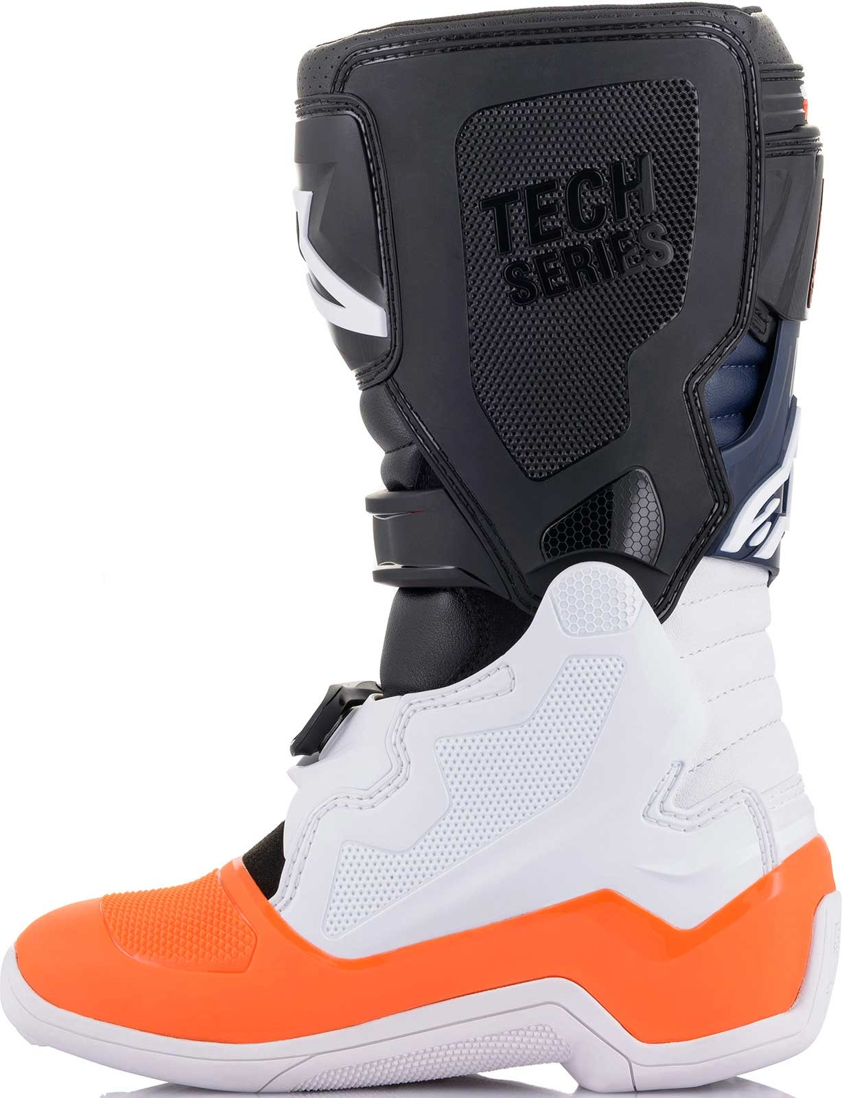 Alpinestars Youth Tech 3S Boots-Black//White//Red Flo-Y7