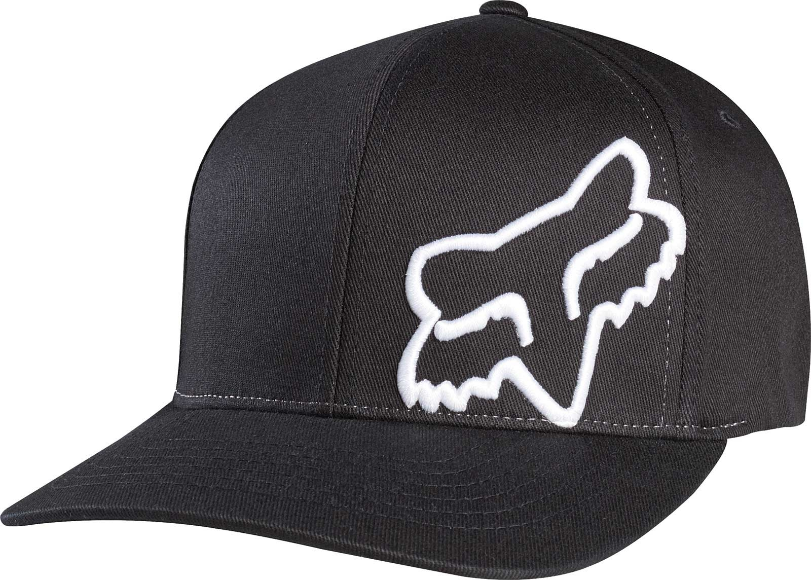 2bb3168632f Fox Men S Flex 45 Flexfit Hat Black White M
