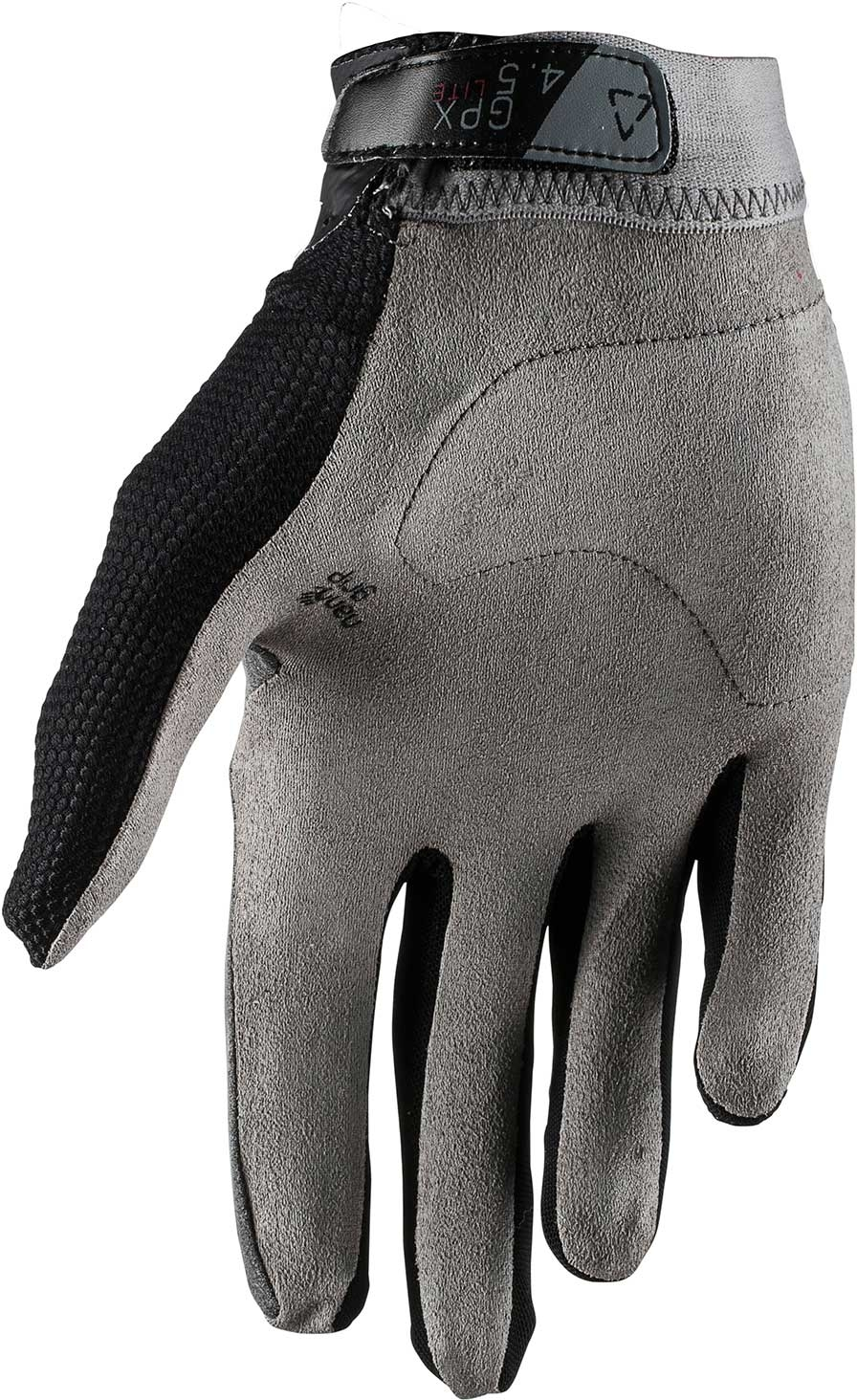 Leatt GPX 4.5 Lite Vented Mens MX Offroad Gloves Red//Gray