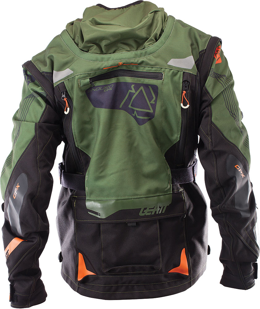 Men's enduro jacket - Leatt Gpx 5 5 Enduro Offroad Jacket Motocross