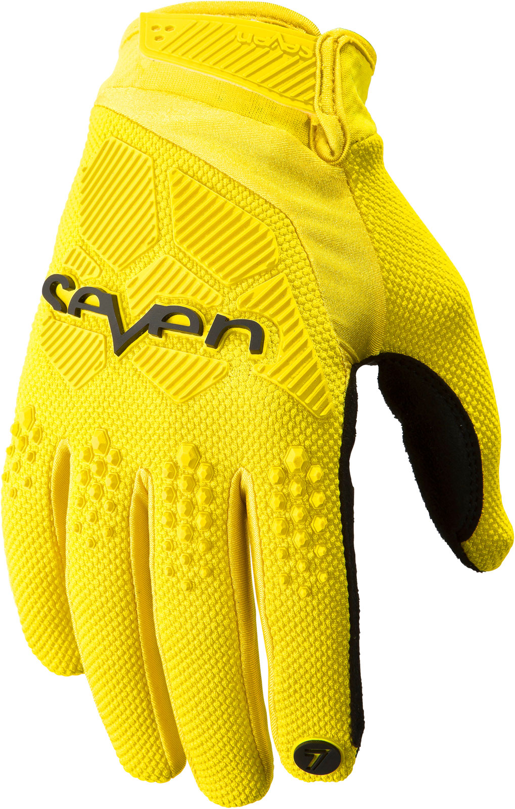 Mens yellow gloves - Seven Mx Rival Gloves Motocross Dirtbike Offroad Atv