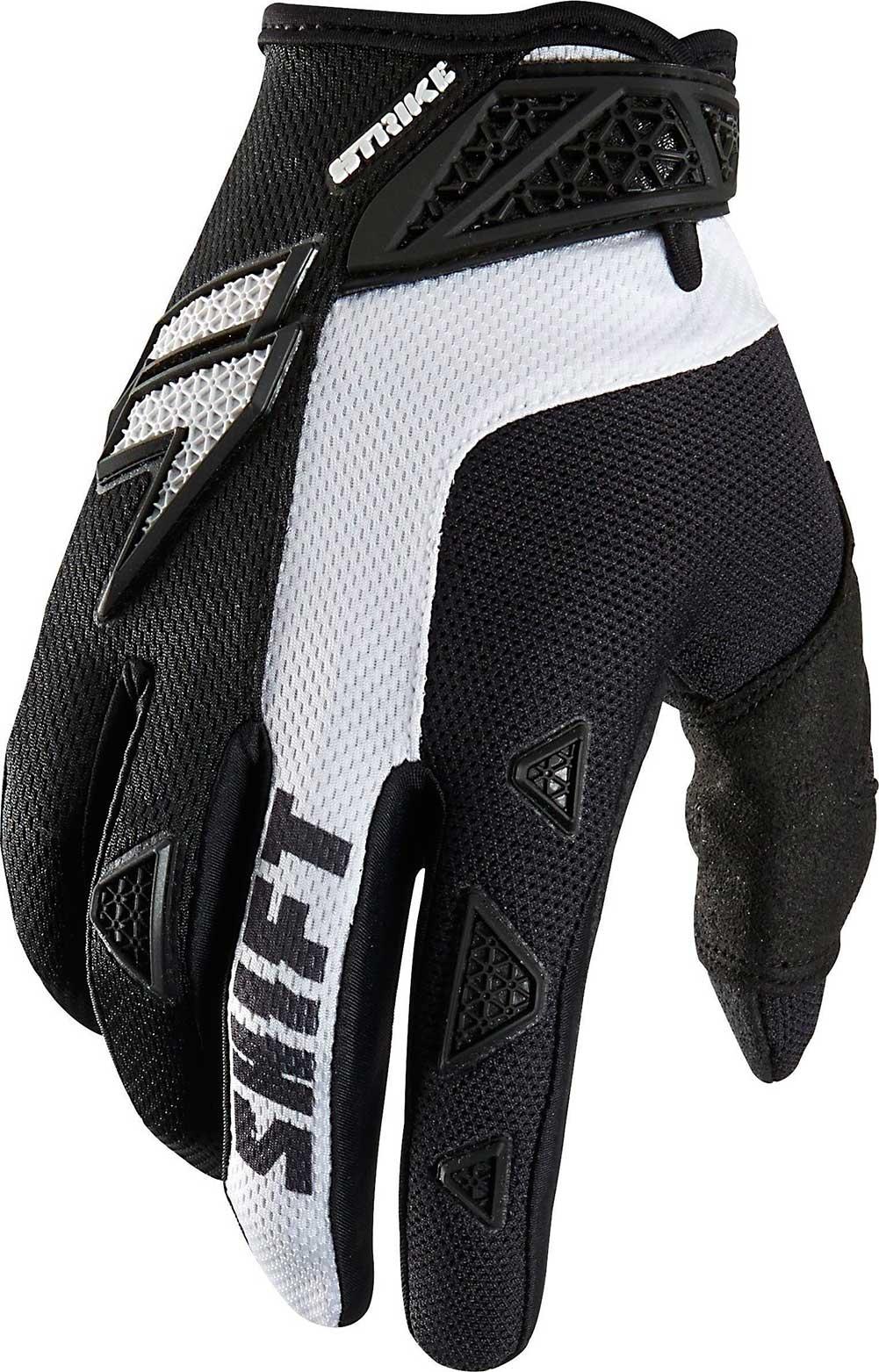 Shift Black White Strike Army Dirt Bike Gloves 2015 Mx Atv Gear