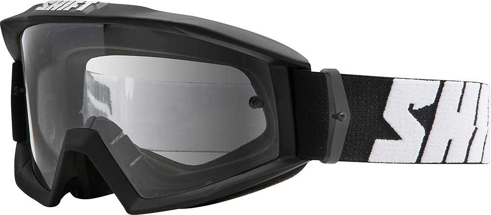 Shift Racing Nano Motocross Goggle Black Dirt Bike Quad Sandcar