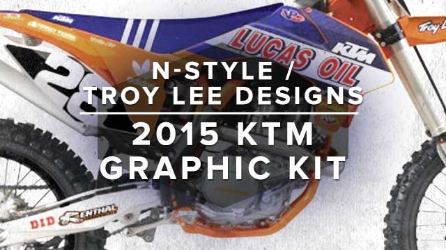 N-Style 2015 Troy Lee Designs Lucas Oil KTM Graphic Kit